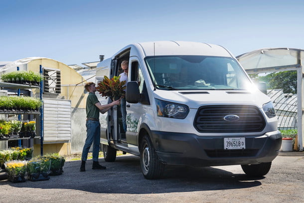Van fitting: less and lighter